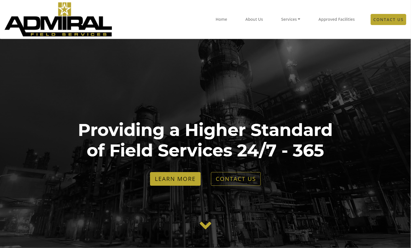 Admiral Field Services Website